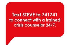 Text Steve to 741741